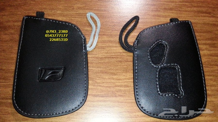 جراب (كفر) مفتاح لكزس ال اس Lexus LS 460 موديلات 2013 - 2016 الأصلي الجلد