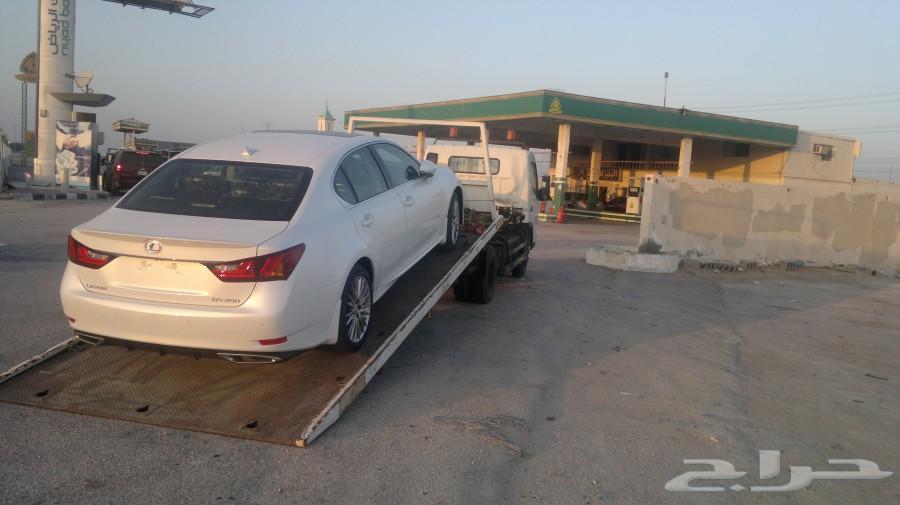 سطحة لنقل السيارات من دبي للسعودية