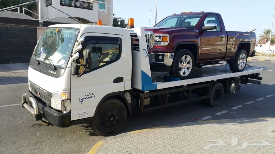 سطحات خاصة هيدروليك للنقل وشحن السيارات من الامارات الى السعودية وبالعكس