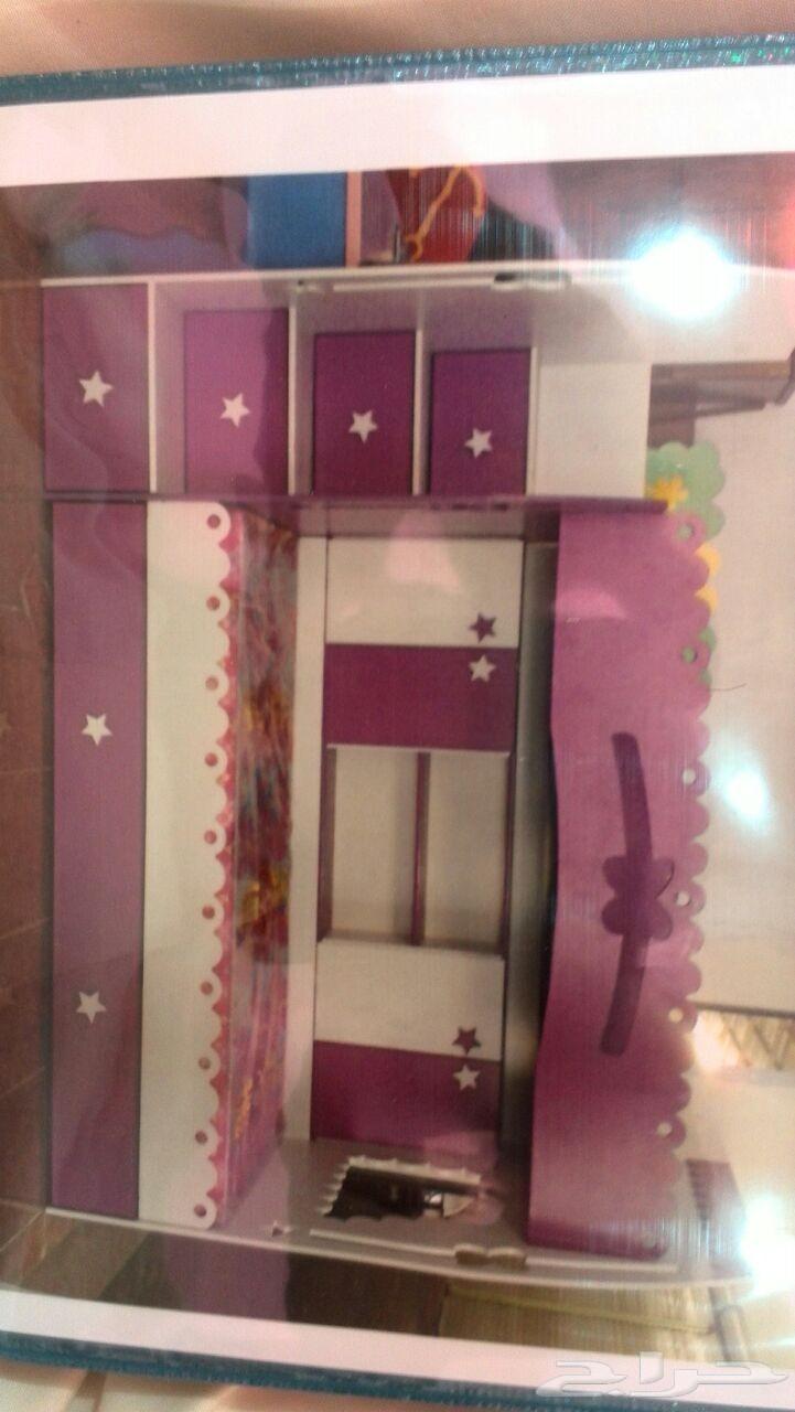 غرف نوم اطفال ورئيسية ومفرد بأسعار طيبه