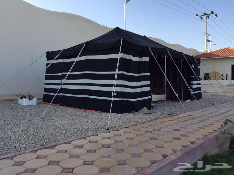 أجمل الخيام (( خيمة على شكل بيت شعر )) روووعة