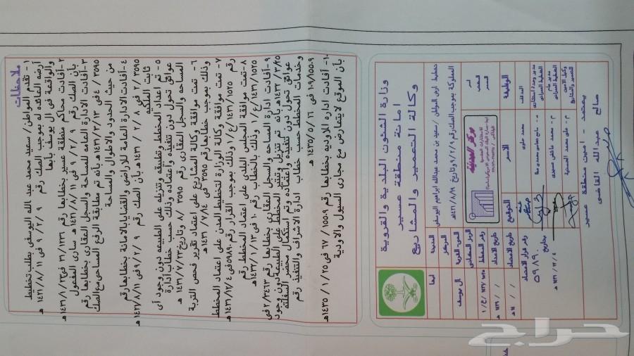 أرض للبيع 6 قطع مساحة 660م أبها - آل يوسف