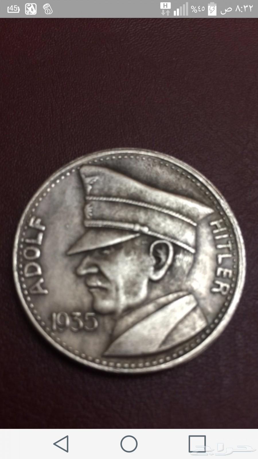 للبيع 3 عملات اثريه لعهد النازيه هتلر