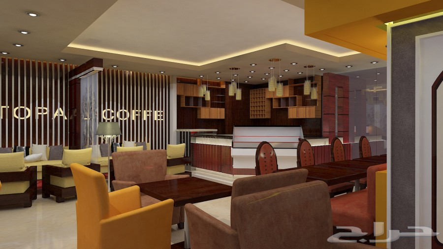 d50c34dac مهندس ديكور متخصص في تصميم ديكور المطاعم و الكوفي شوب و المقاهي و الاكشاك  في المجمعات التجارية