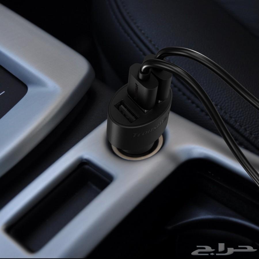 شاحن ولاعة للسيارة ذو 3 مخارج بتقنية شحن سريع 75 ريال .