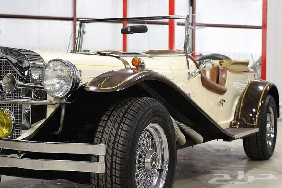 ����� ������ 1929 Mercedes-Benz SSK.