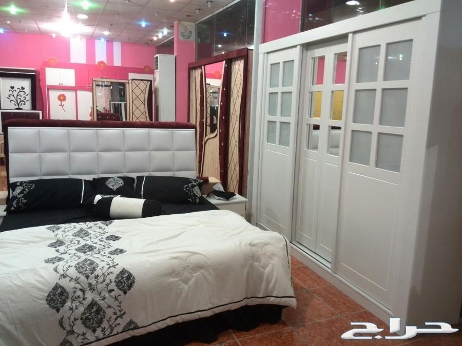 تفصيل غرف نوم  والتوصيل والتركيب مجانا
