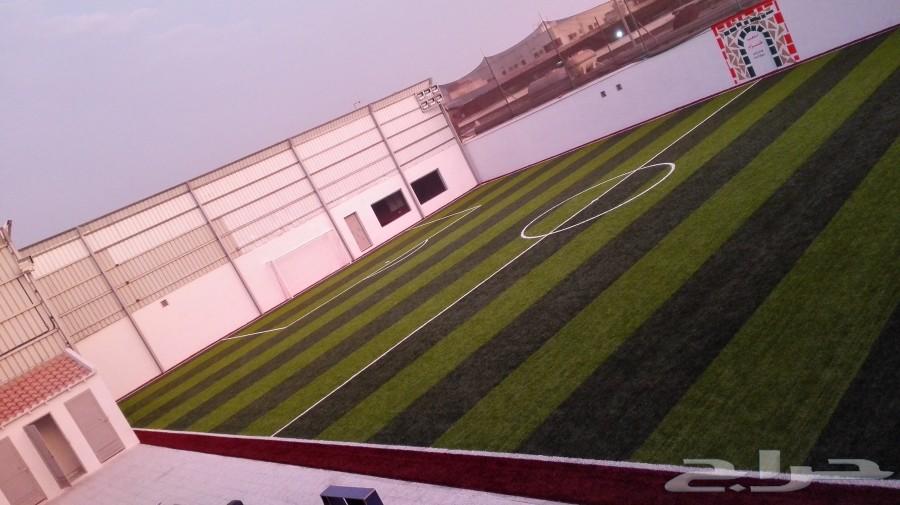 للإيجار ملعب كرة قدم جديد خلف مبنى التلفزيون