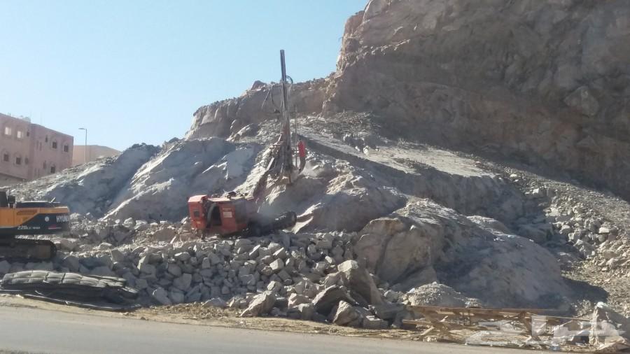ازالة الصخور و القطع الصخري