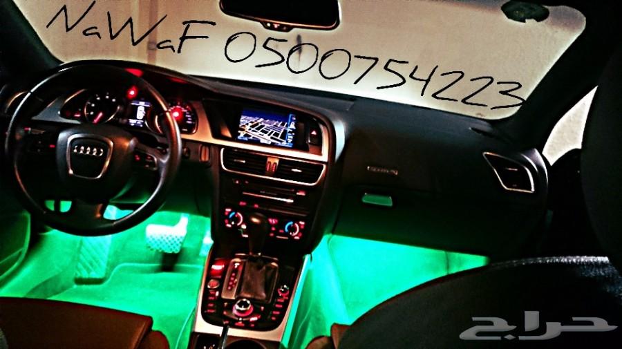اضاءة 16.لون.LED. .داخل السياره صناعة امريكيه