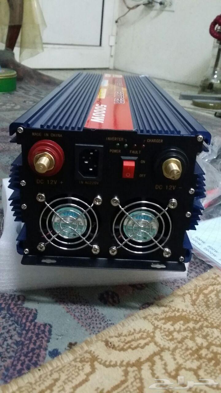 محولات كهرباء من 12 فولت ل 220 فولت