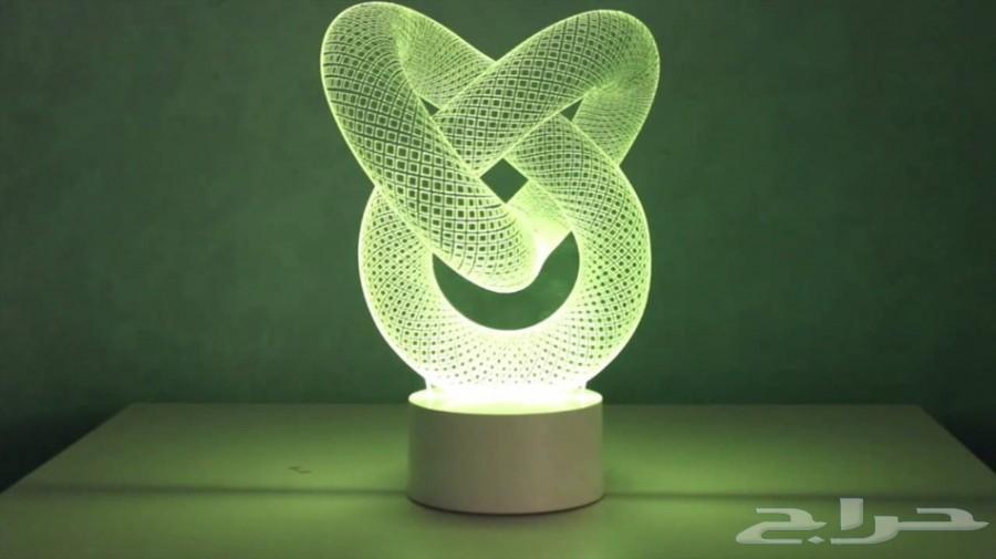 3D إضائه ثلاثية الابعاد