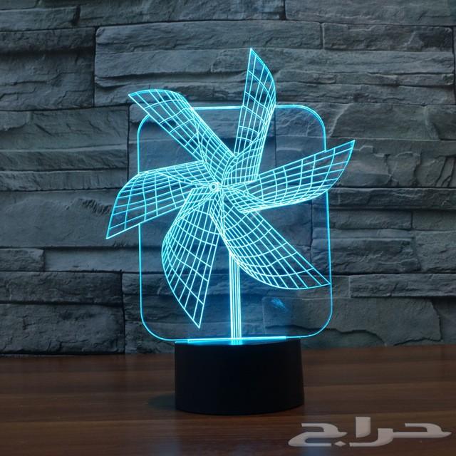 إضاءات 3D