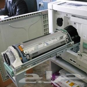 صيانة آلات النسخ والطباعة والتصوير الليزرية