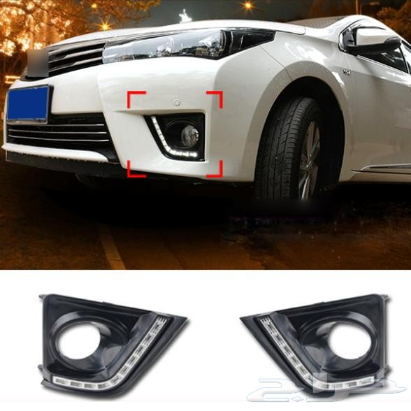 فيابر زوائد كورولا 2014-2016 corolla body kit