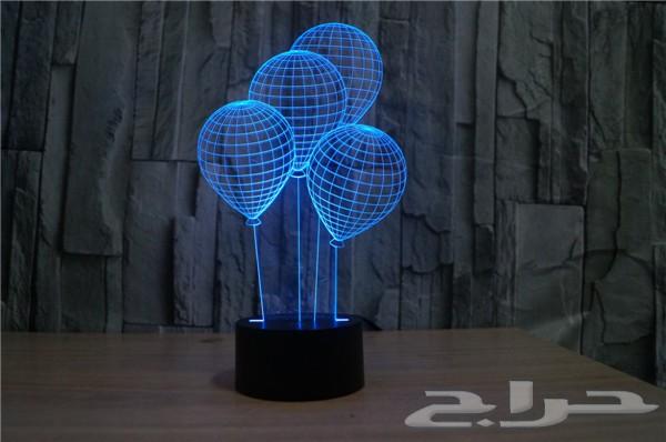 اضاءات ثلاثية الابعاد