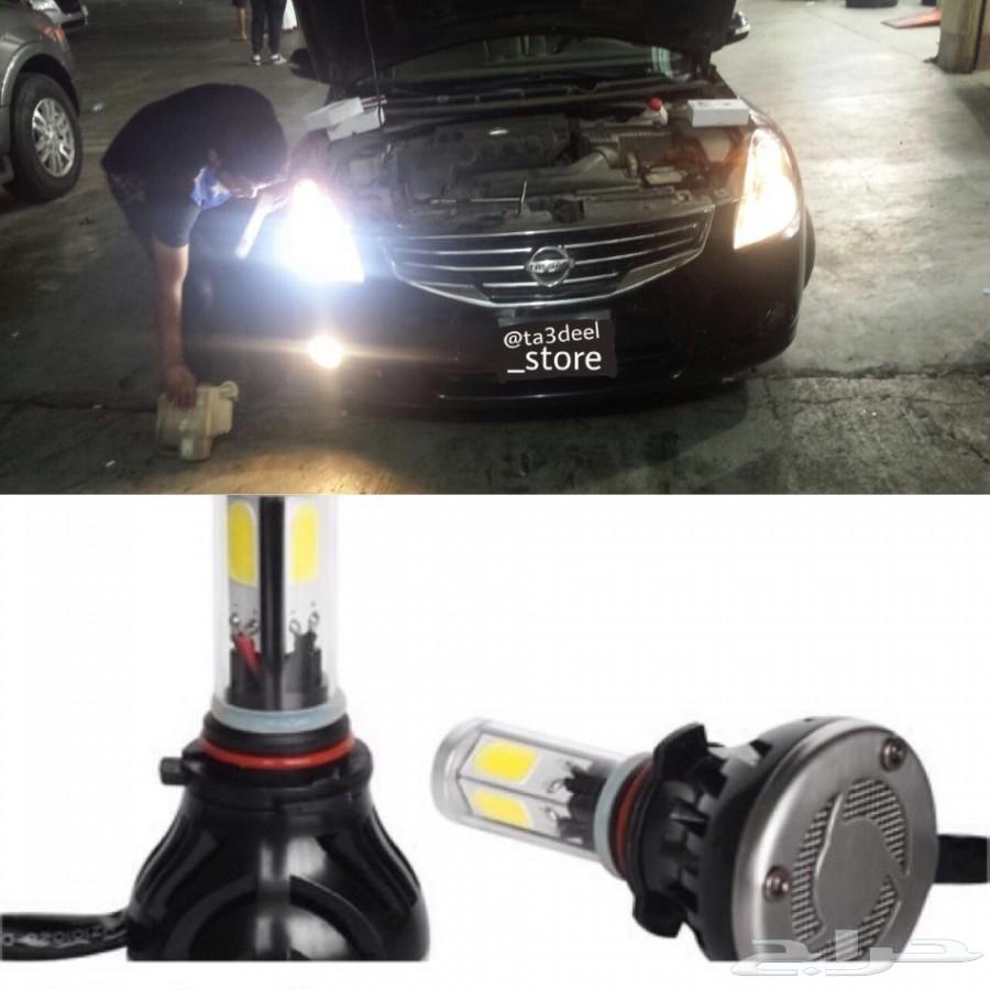 ليد LED بديل الزنون لجميع السيارات