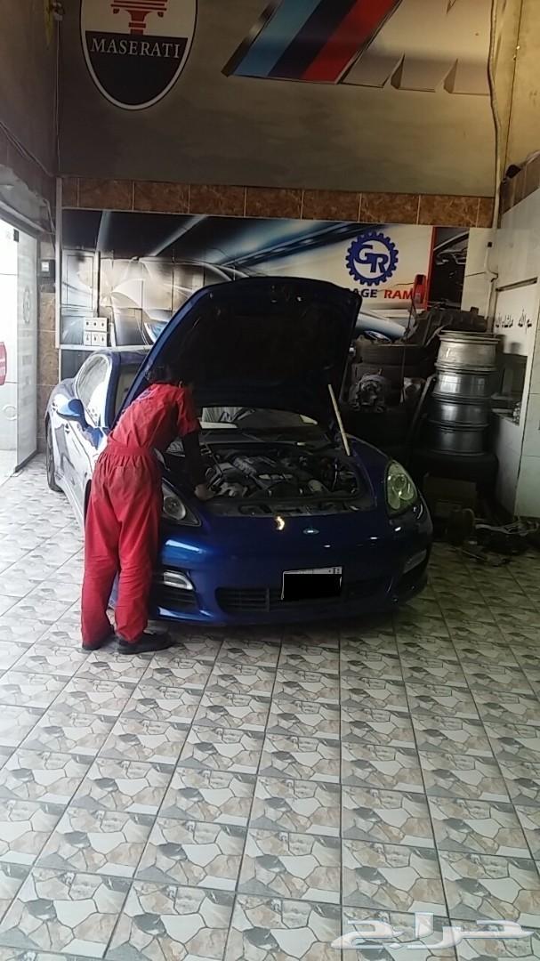 ورشه اودي GARAGE RAMI مركز لصيانة السيارات