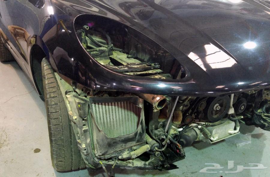 إصلاح صدمات السيارات الألمانية