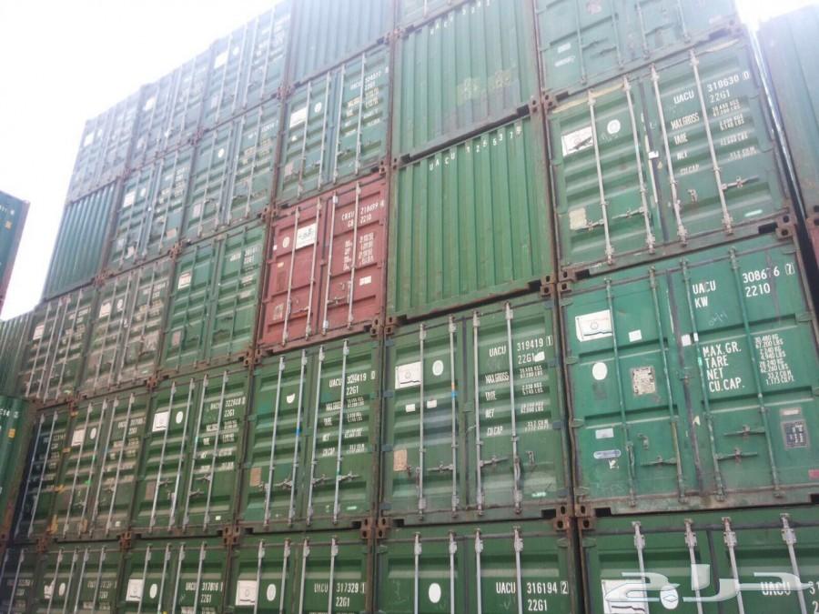 مجموعة حاويات ( كنتينر ) للبيع جمله وقطاعي