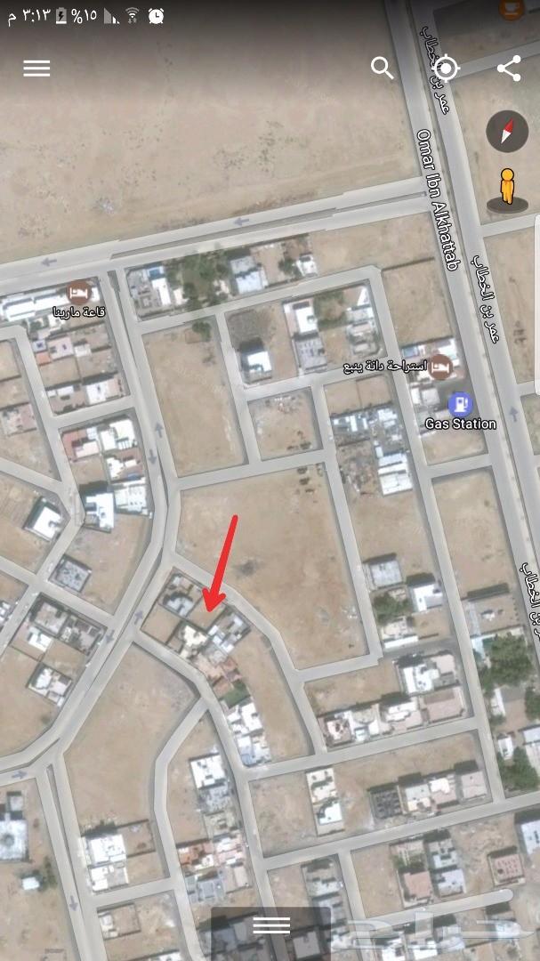 ارض للبيع في مخطط ابوعوف ( هاء 4 ) في ينبع