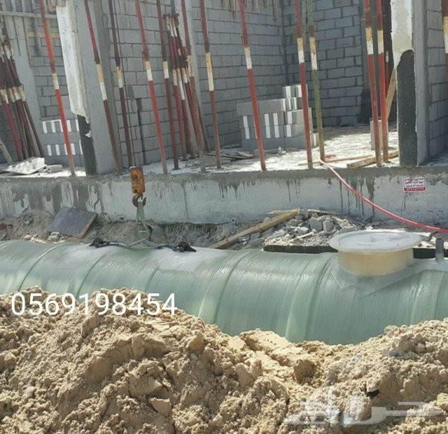 خزانات مياه مرجان المهيدب بولي ايثيلين وفيبر