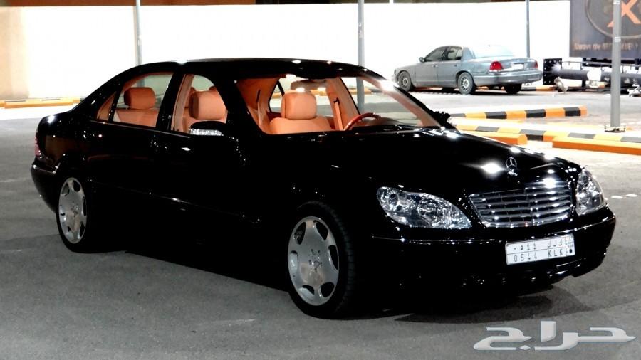 ( سياره حكوميه ) الديوان الملكي S600